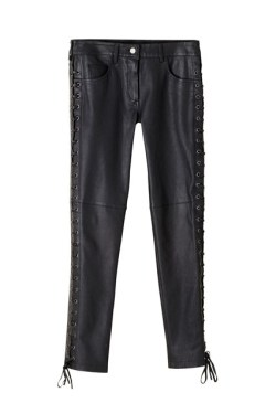 Leather trousers, £179.99