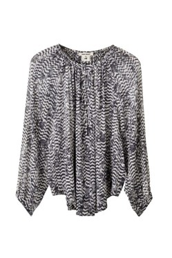 Silk blouse, £59.99