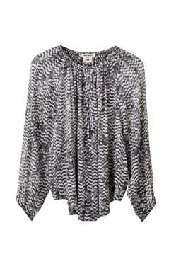 Silk blouse, £59.99