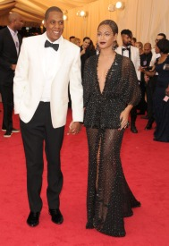 Both in Givenchy Haute Couture by Riccardo Tisci